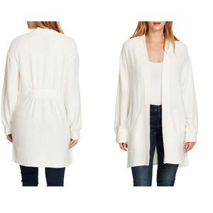 Vince Camuto Cinch Back Cable Knit Cardigan XL